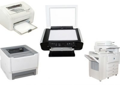 Business or residential office machines, Computers, laptops, printers and monitors are recycled.