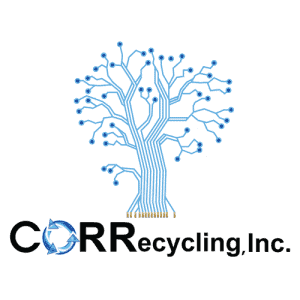 CORRecycling Logo small Ewaste tree