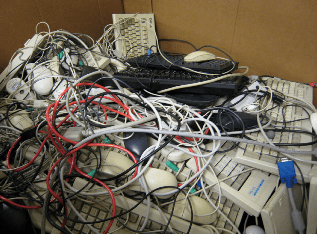 Ewaste and Wires for Responsible Recycling