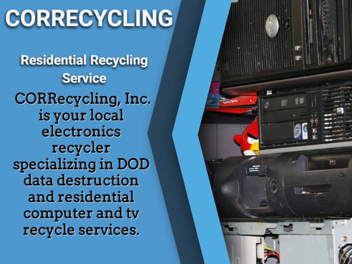 2021 Carbondale E-Waste Recycling Event provided by CORRECYCLING, INC.